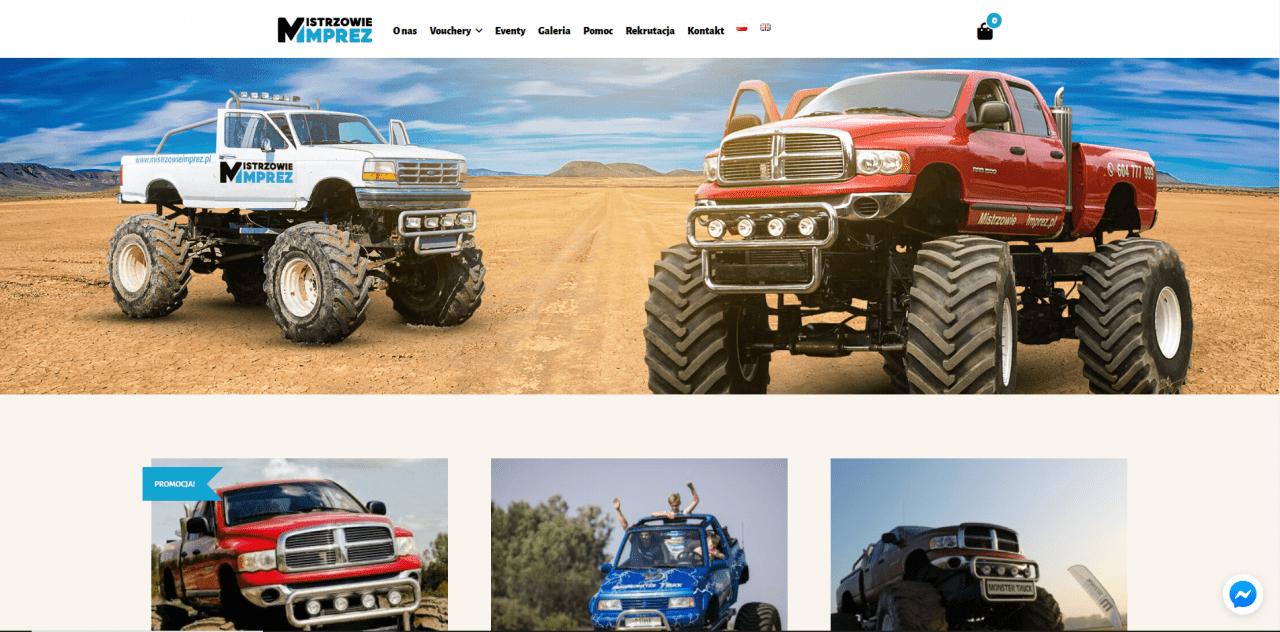 monster truck poland